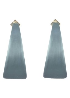Alexis Bittar Neon Capsule Wide Graduated Medium Hoop Earrings