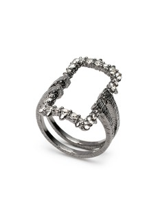 Alexis Bittar Open Square Cocktail Ring