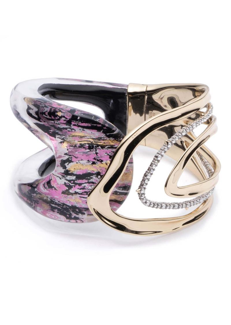 Alexis Bittar Orbit Hinge Cuff Bracelet
