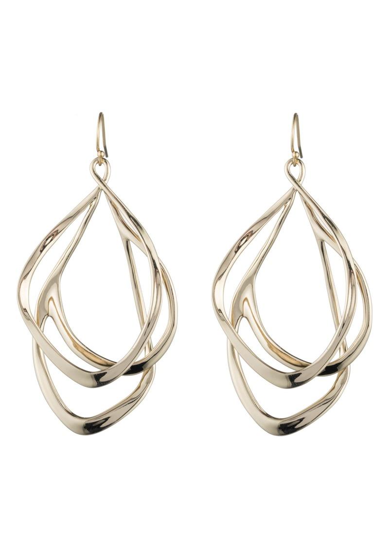 Alexis Bittar Orbit Wire Drop Earrings