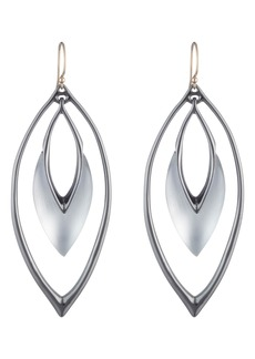 Alexis Bittar Orbiting Wire Drop Earrings