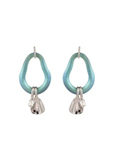Alexis Bittar Organic Link Drop Earrings