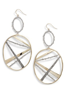 Alexis Bittar Oversize Dangling Hoop Earrings