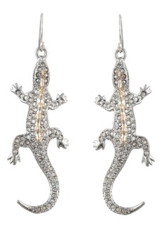 Alexis Bittar Pavé Lizard Drop Earrings