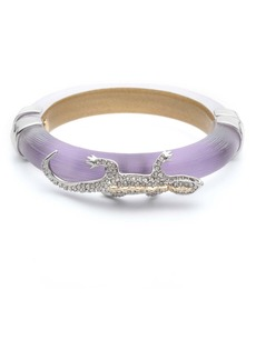 Alexis Bittar Pavé Lizard Hinge Bangle