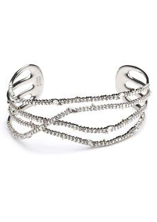 Alexis Bittar Pavé Orbiting Cuff Bracelet