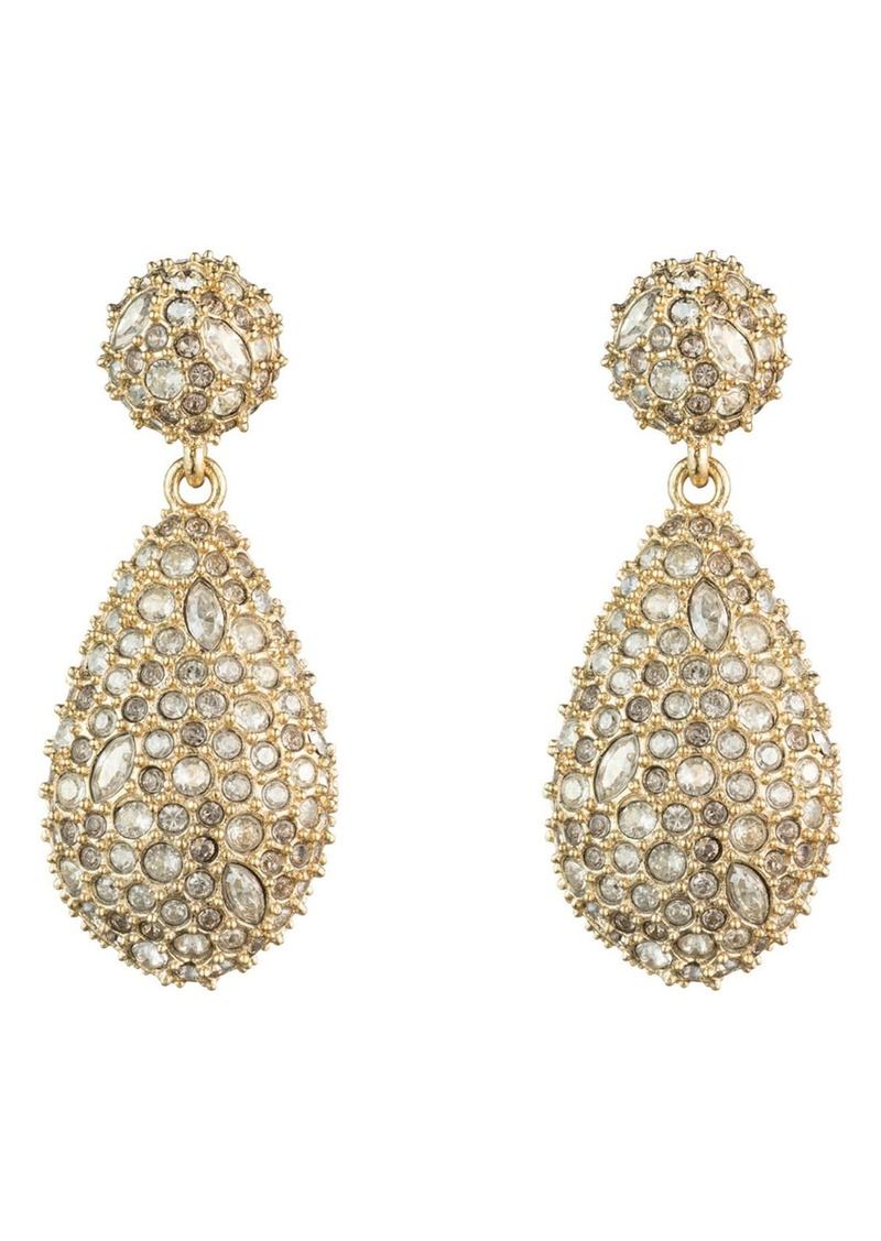 Alexis Bittar Pavé Pod Drop Earrings