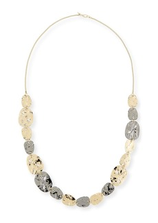 Alexis Bittar Rocky Medallion Station Necklace