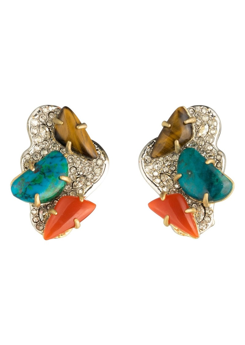 Alexis Bittar Roxbury Crystal Encrusted Earrings