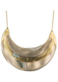 Alexis Bittar Roxbury Layered Bib Necklace