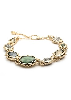 Alexis Bittar Semiprecious Stone Link Bracelet