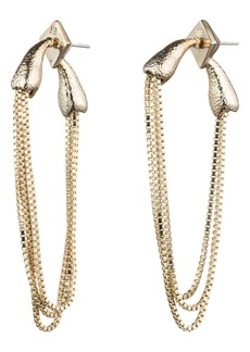 Alexis Bittar Snake Chain Earrings