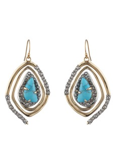 Alexis Bittar Spiral Drop Earrings