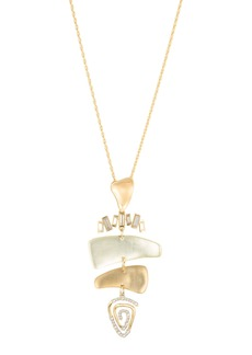 Alexis Bittar Spiral Mobile Pendant Necklace