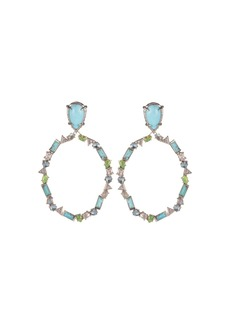Alexis Bittar Stone Clip-On Earrings