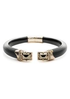 Alexis Bittar Stone Endcap Open Bracelet