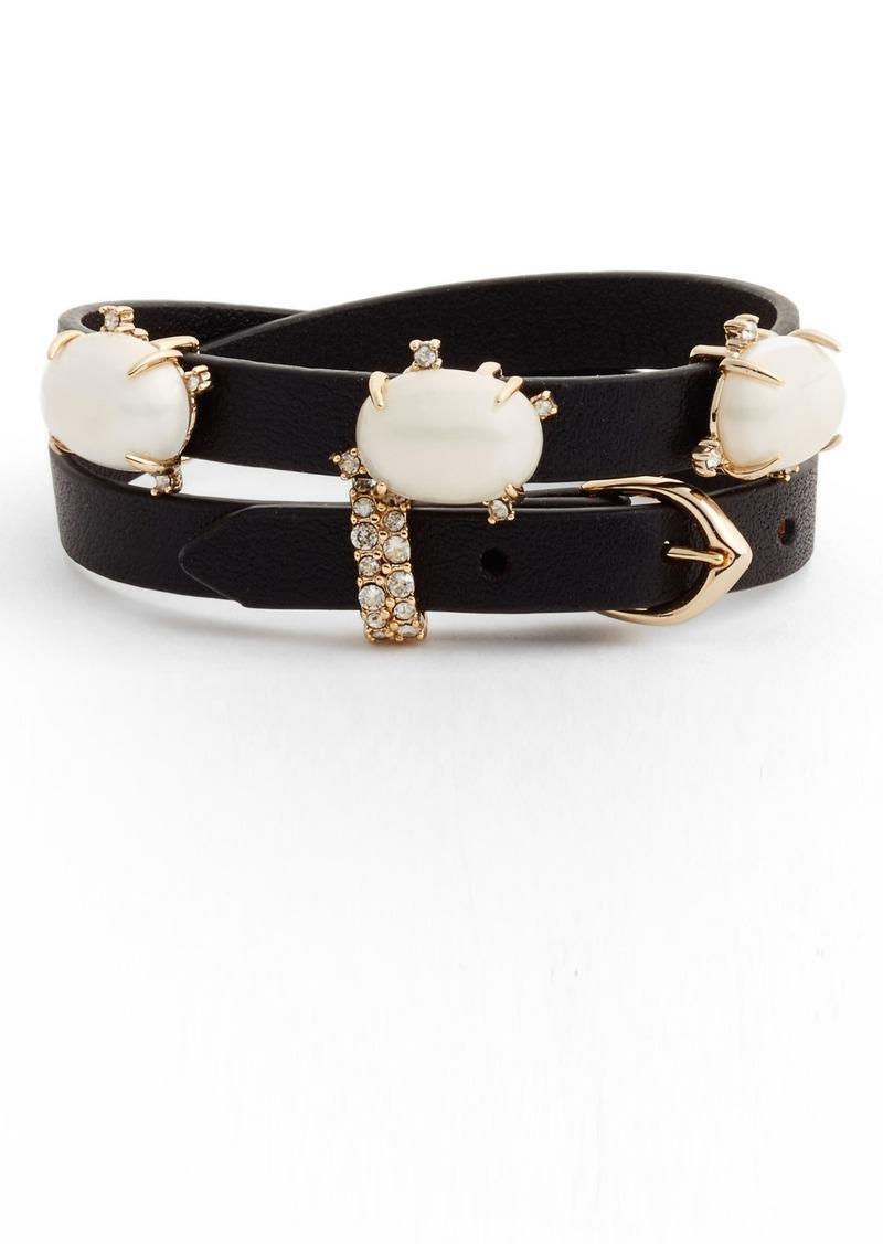 Alexis Bittar Multi-Station Leather Bracelet kFbYB
