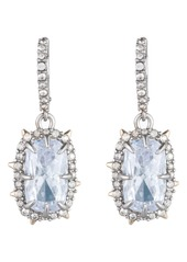 Alexis Bittar Swarovski Crystal Drop Earrings