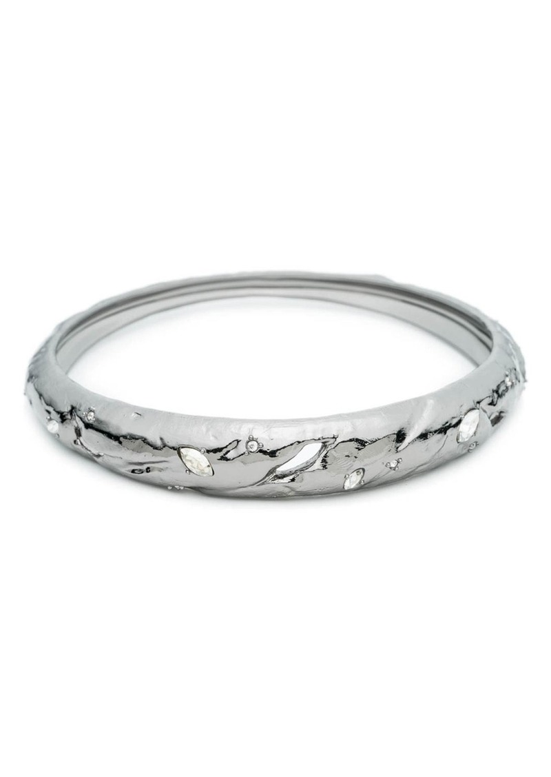 Alexis Bittar Tapered Crystal Bangle