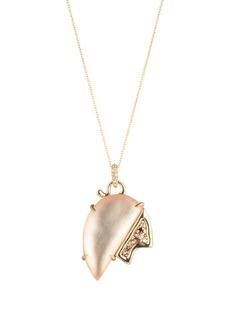 "Alexis Bittar Tulip Pendant Necklace, 16"""