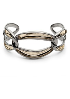 Alexis Bittar Two-Tone Link Cuff