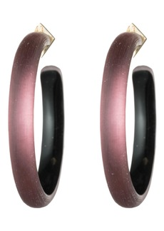 Alexis Bittar Vanitas Large Lucite® Hoop Earrings