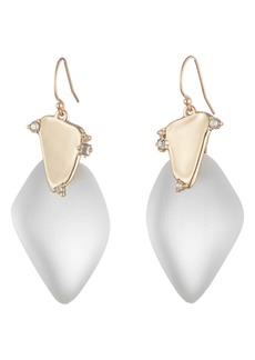 Alexis Bittar Wire Drop Earrings with Satellite Crystals