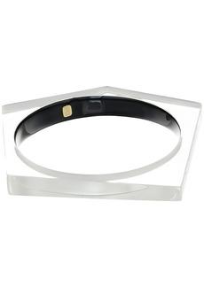 Alexis Bittar Asymmetrical Pentagon Bangle Bracelet