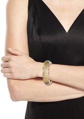 Alexis Bittar Brutalist Soft Square Hinge Bracelet
