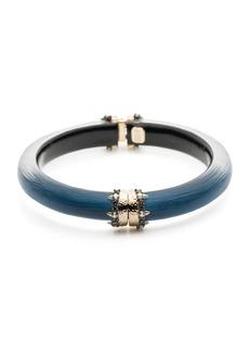 Alexis Bittar Capped Hinge Bracelet  Blue