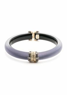 Alexis Bittar Capped Hinge Bracelet  Purple