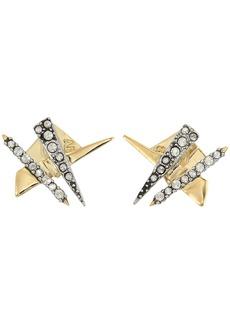 Alexis Bittar Crisscross Shard Post Earrings