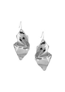 Alexis Bittar Crumpled Wire Drop Earrings