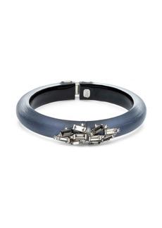 Alexis Bittar Crystal Baguette Cluster Hinge Bracelet