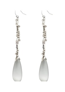 Alexis Bittar Crystal Baguette Linear Drop Earrings