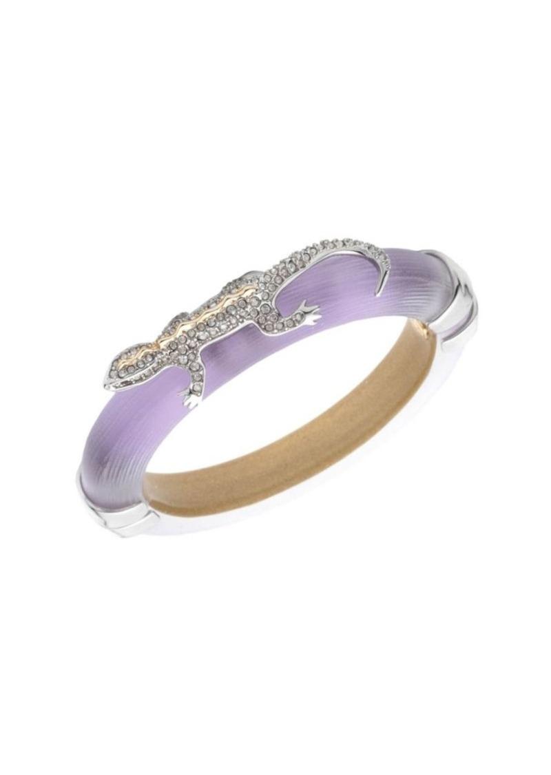 Alexis Bittar Crystal Encrusted Lizard Hinge Bracelet