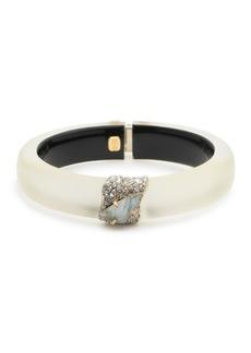 Alexis Bittar Crystal Encrusted Roxbury Cluster Bracelet