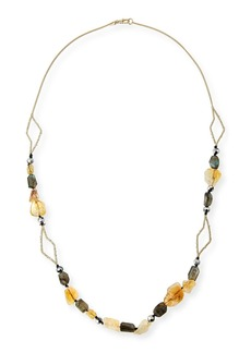 Alexis Bittar Crystal Layering Necklace  38
