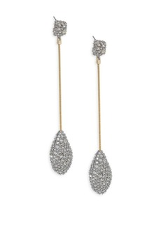 Alexis Bittar Swarovski Crystal Pavé Teadrop Earrings