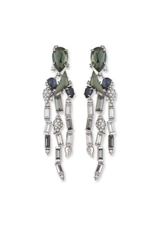 Alexis Bittar Fancy Stone Cluster & Fringe Earrings