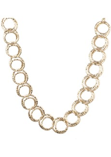Alexis Bittar Hammered Coil-Link Necklace