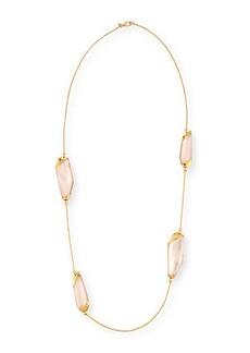 Alexis Bittar Large Lucite® Station Necklace  36
