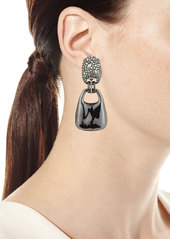 Alexis Bittar Liquid Dangling Clip Earrings