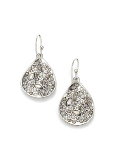 Alexis Bittar Miss Havisham Crystal Drop Earrings/Silvertone