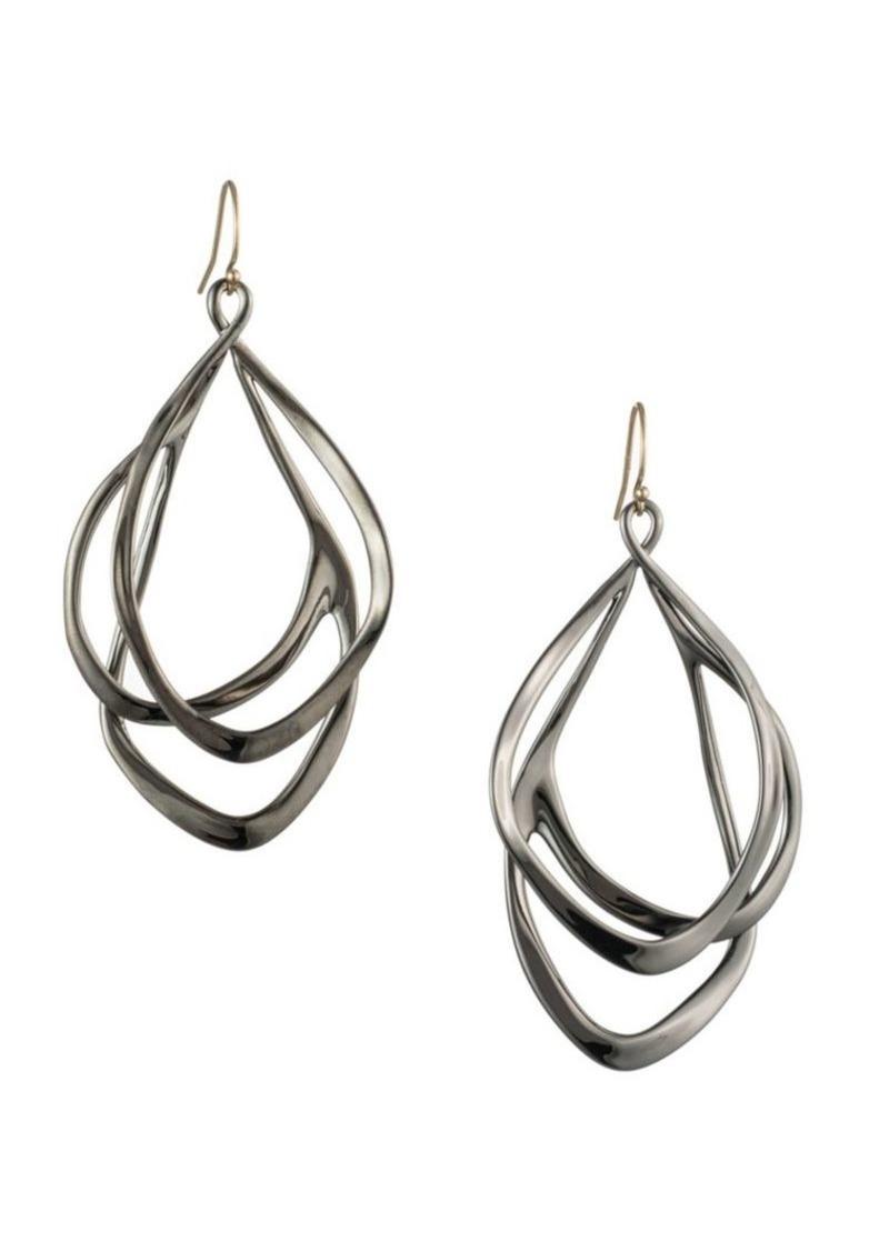 Alexis Bittar Orbit Wire Post Earrings
