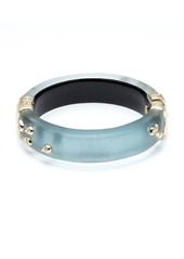 Alexis Bittar Paisley Studded Hinge Bracelet  Blue