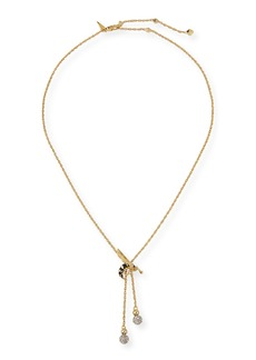 Alexis Bittar Petite Hornet Lariat Necklace