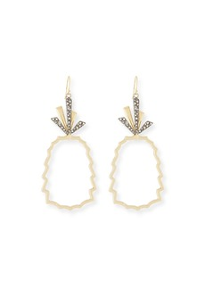 Alexis Bittar Pineapple Wire Drop Earrings