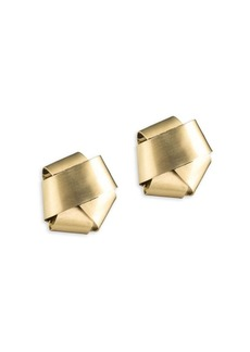 Alexis Bittar Roxbury Muse Knot Stud Earrings