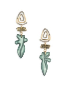 Alexis Bittar Roxbury Muse Spiral Post Earrings